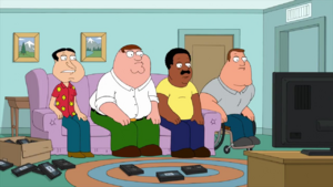Peter and his friends watch the Winter Summer