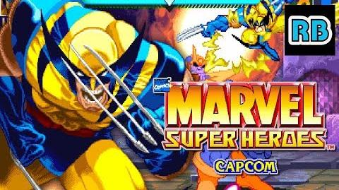1995 60fps Marvel Super Heroes 4412300pts Wolverine ALL