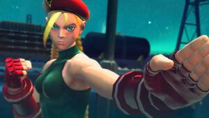 Cammy's rival