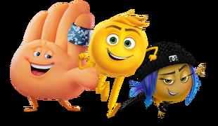 Emoji movie characters