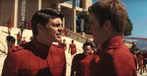 Kirk and McCoy- Reboot