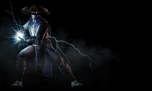 MortalKombatX Raiden Render