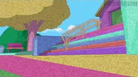 Phineas y Ferb Villa Espuma Castellano