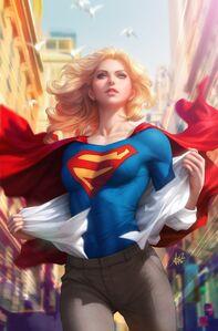 Supergirl Vol 7 15 Textless Variant