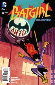 Batgirl Vol 4 36 Chiang Variant