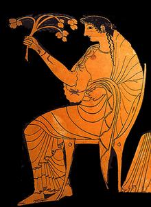 Hestia, vase