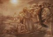 Jovis baptizes Rasputin