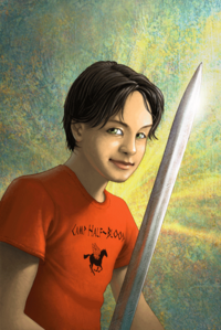 Percy Jackson-artwork
