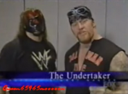The Undertaker and Kane in America's Most Wanted