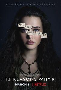 13 Reasons Why Character Poster Hannah Baker