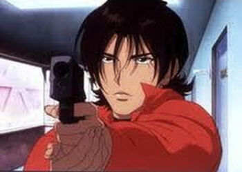 Anime Galleries dot Net - Electra/cb elektra0004 Pics ... |Cowboy Bebop Spike And Elektra