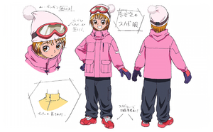 FwPCMH movie2-BD art gallery-01-Misumi Nagisa snowboarding clothes