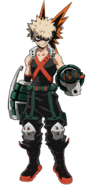 Katsuki Bakugo Hero Costume Full Body