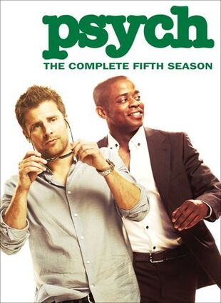Psych Season 5 DVD