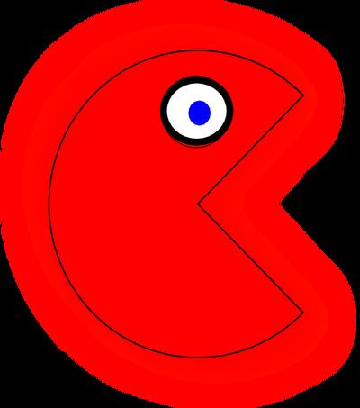 Red Pac-Man