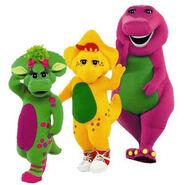 Barney Baby Bop Bj