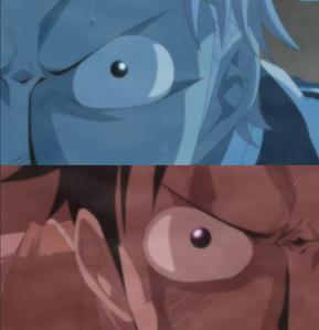 Luffy vs coby