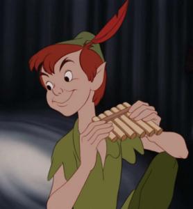 Peter Pan grin