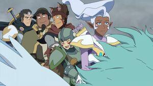 VLD - Shiro, Hunk, Lance, Pidge and Allura