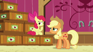 Apple Bloom thinks about her answer S6E23