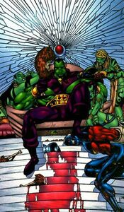 Drax and Genis-vell