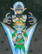 Fierce Deity Link and Link