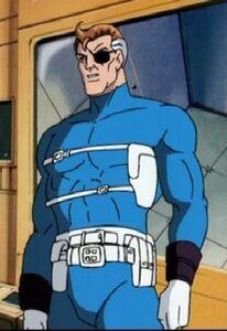 Nick Fury animated