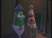 Poole and Mr. Butterbun Hear the Music.
