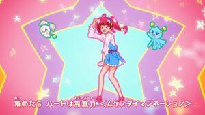 Sparkle StarTwin Hikaru and Prunce dancing
