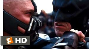 The Dark Knight Rises (2012) - Batman vs