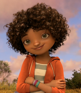 Tip, the heroine of Home