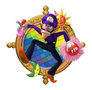 Mario Party 6 Waluigi
