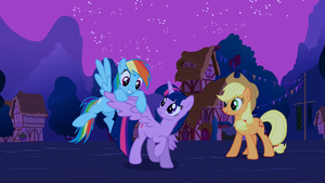 Rainbow Twilight's got wings! S3E13