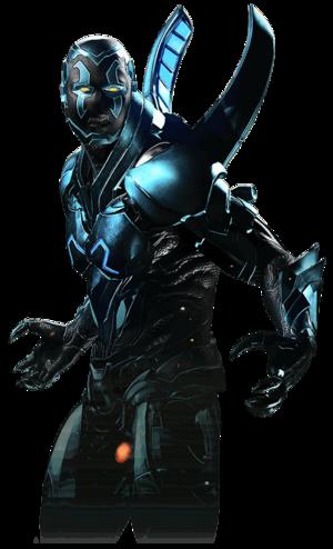Blue beetle injustice 2 render