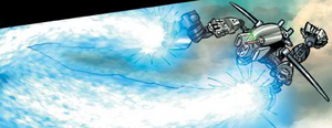 Comic Blizzard Blade In Use
