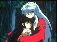 Hug inuyasha kikyo hugging