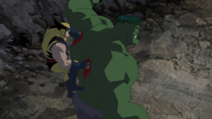 James Howlett and Bruce Banner (Earth-8096) from Hulk Vs. (film) 0001