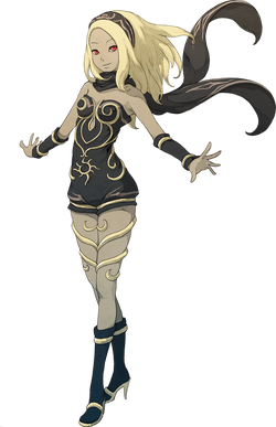 Kat as she appears in Gravity Rush 2