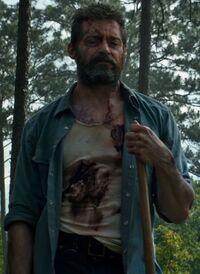Logan With a Shovel