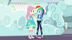 Rainbow blushing with embarrassment EGROF