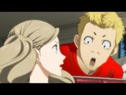 Ryuji stares at anns chest