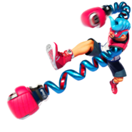 Spring Man ARMS character art 01