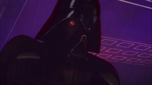 Vader glower