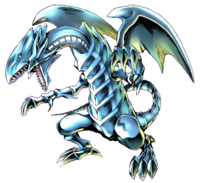 Blue-Eyes White Dragon!