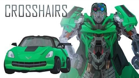 CROSSHAIRS - Short Flash Transformers Series
