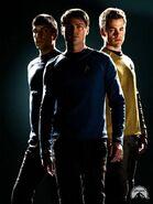 Kirk, Spock and McCoy- Reboot
