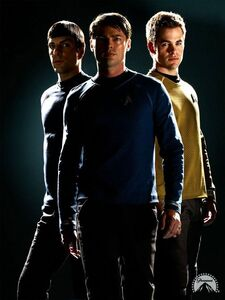 Kirk, Spock and McCoy- Reboot