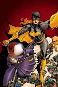 Batgirl Vol 4 34 Textless Selfie Variant