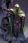Forgotten Realms - Drizzt Do'Urden with his animal companion Guenhwyvar as seen in The Legend of Drizzt Book 1