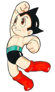 Tezuka Astroboy punch